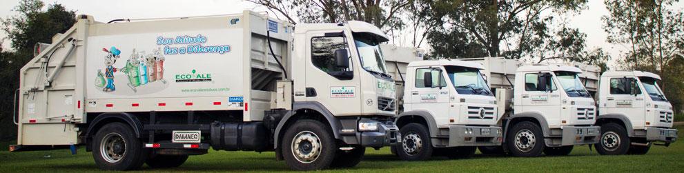 Caminhão caçamba Ecovale Residuos Urbanos
